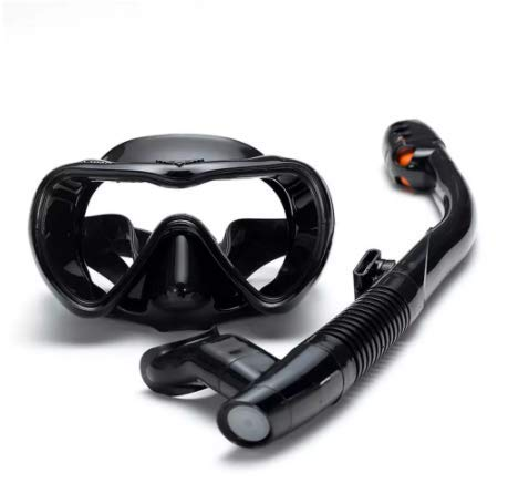 GLOOZD Máscara de Buceo Profesional y snorkels Anti-Niebla Gafas a Prueba de Fugas Gafas Gafas de Buceo Gratis Natación de Tubo de respiración fácil