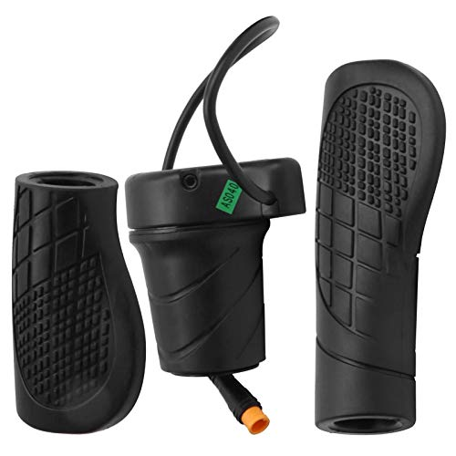 Alomejor Scooter Half Twist Gasgriff mit Wasserdichtem Gelenk für E-Bike Scooter Modifiziertes Zubehör