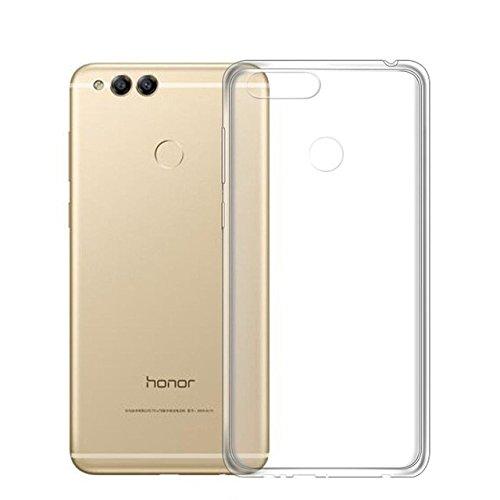 CoverKingz Handyhülle für Honor 7X - Silikon Handy Hülle Honor 7X - Soft Hülle Slim Cover Transparent