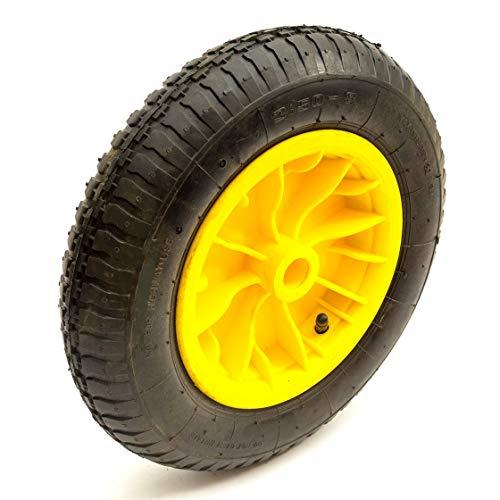 Amarillo Rueda &14 Inch 3.50-8 Neumático & Interior Tubo Lanzamiento Carrito