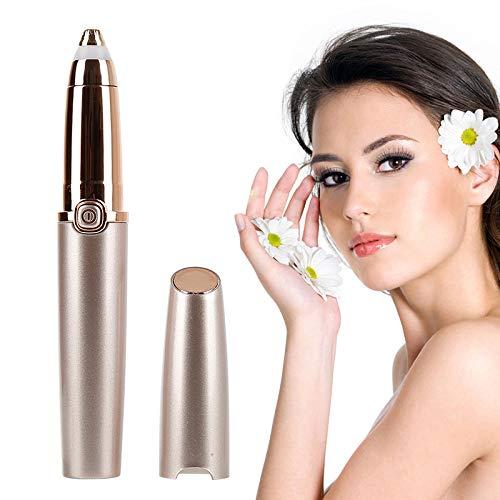 Barabum Augenbrauen-Epilierer, wiederaufladbarer elektrischer USB-Augenbrauentrimmer, schmerzloser und waschbarer Augenbrauen-Haarentferner für Frauen