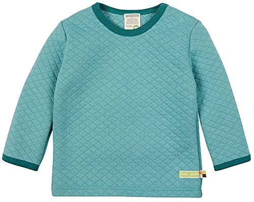 loud + proud Unisex Kinder Shirt Padded Knit, GOTS Zertifiziert Sweatshirt, Oregano, 98/104