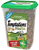Temptations Mixups Catnip Fever Flavor Cat Treats, 16 Oz (Value size) - Pack of 2
