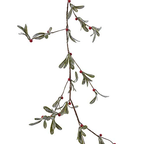 Decoris Green/Red Garland with Berrie - Case of: 8;
