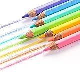 TGBN 12PC / Set Lápices de Colores Pastel Lápices de Colores Suaves y Modernos para niños de la Escuela