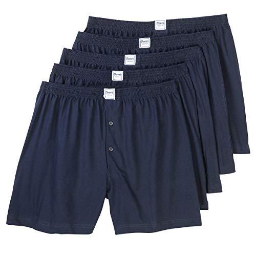 ADAMO Boxershorts Übergrößen blau Daves 5er Pack, deutsche Wäschegröße:8