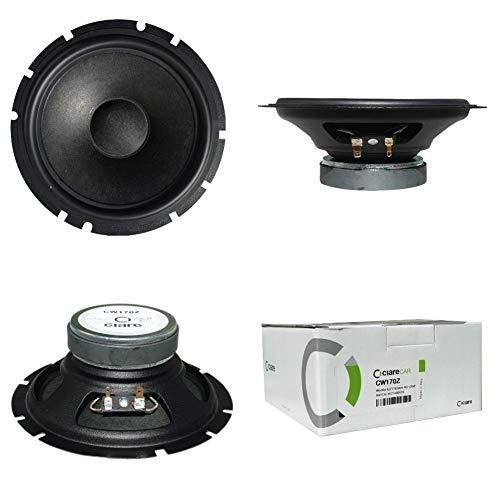 CIARE CW170Z speaker medium lage speaker 16,50 cm woofer 165 mm diameter 60 watt rms 120 watt max impedantie 4 ohm voor autodeuren, 1 stuk