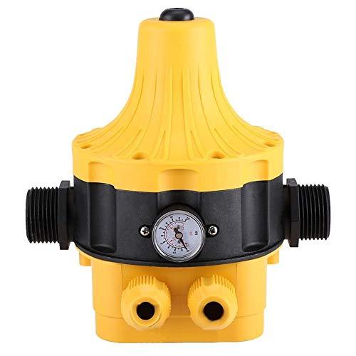 Interruptor de Presión de La Bomba de Agua - Controlador Eléctrico Automático Con Medidor Accesorio for El Hogar
