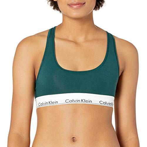 Calvin Klein Women's Modern Cotton Bralette, Camp, S