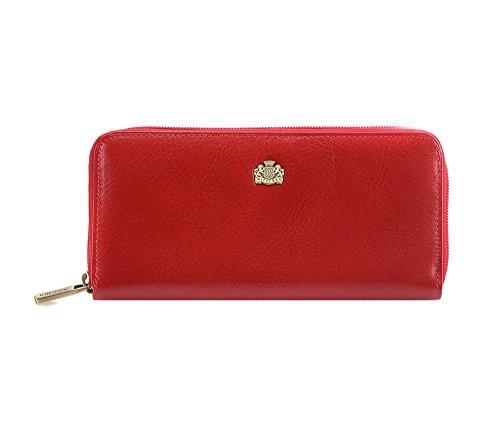 WITTCHEN Elegante Geldbörse Damen/Geldbeutel Portemonnaie aus Leder 19x9cm 10-1-393-3