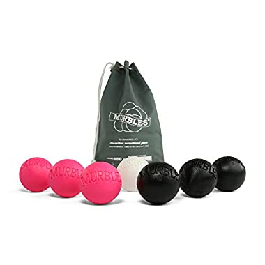 Murbles Game Standard Set; Pink & Black
