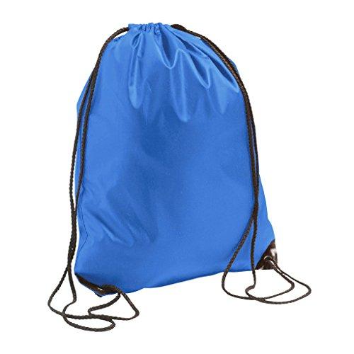 SOLS - Mochila saco o de cuerdas Impermeable/resistente al agua Deporte/Gimnasio (Talla Única) (Azul eléctrico)