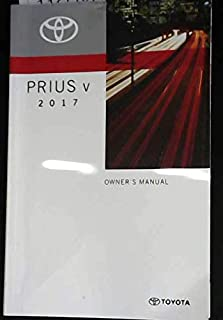 2017 Toyota Prius V Owner's Manual