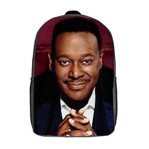QUEMIN Luther Vandross, bolsos de hombro, bolso Dzc, mochila de 17 pulgadas, portátil de 15 pulgadas y tableta, mochila de viaje de moda