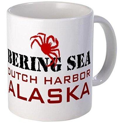 11オンスマグ - オランダハーバー アラスカ デッドリーストキャッチ マグ - S ホワイト