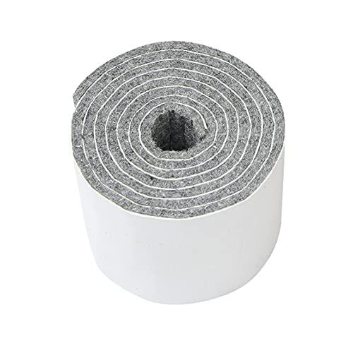 Fieltro autoadhesivo con 3 ruedas, protección del medio ambiente, mesa de fieltro de lana y alfombrilla para sillas, camas, muebles, deslizadores, protección del suelo