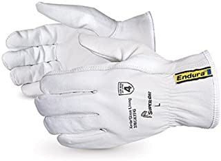 Superior 378GKTFG Grain Goatskin Leather Drivers Glove with Keystone Thumb and Kevlar/Glass Lined, 2X-Large (Pack of 1 Pair)