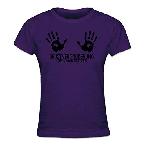 Shirtcity Brustvergrößerung durch Handauflegen Frauen T-Shirt by