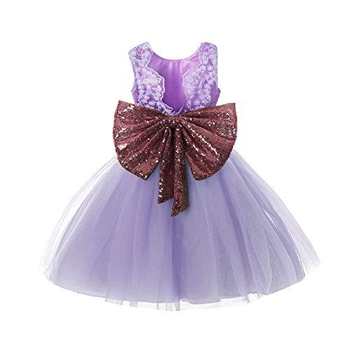 nobrand Kinderkleider für Mädchen Kinder Brautkleid Geburtstag Taufkleid mit