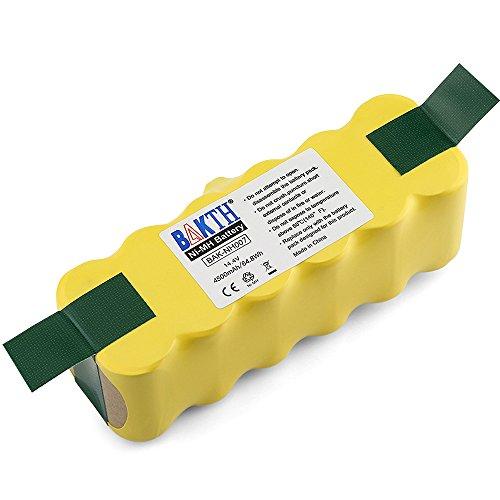BAKTH 14.4V 4500mAh Ni-MH Batería para Roomba 500 510 520 5