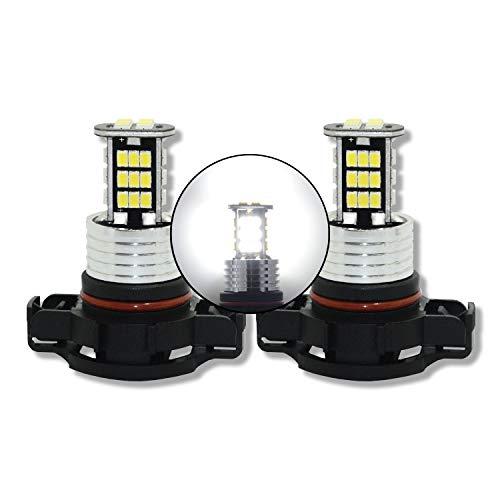 MCK Auto - Remplacement pour Set d'ampoules blanches H16 LED CanBus très clair et sans erreur compatible avec A3 8P