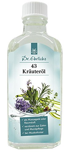 Dr. Ehrlichs 43 Kräuter Öl