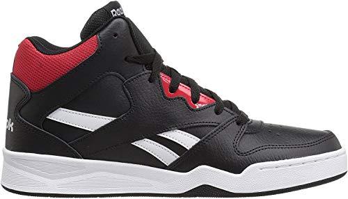 Reebok Men's Royal Bb4500 Hi2 Walking Shoe, Black/White/Primal red/Light, 14 M US