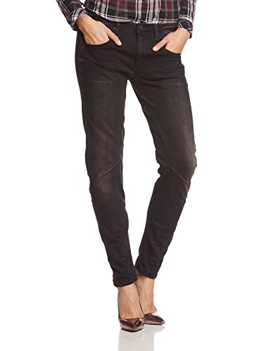 G-STAR dames Boyfriend jeans Arc 3D Low - intr black strtch dnm
