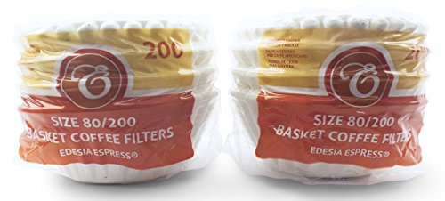 400 x 2 Pint / 8 to 12 Cup Basket Coffee Filter Papers by EDESIA ESPRESS