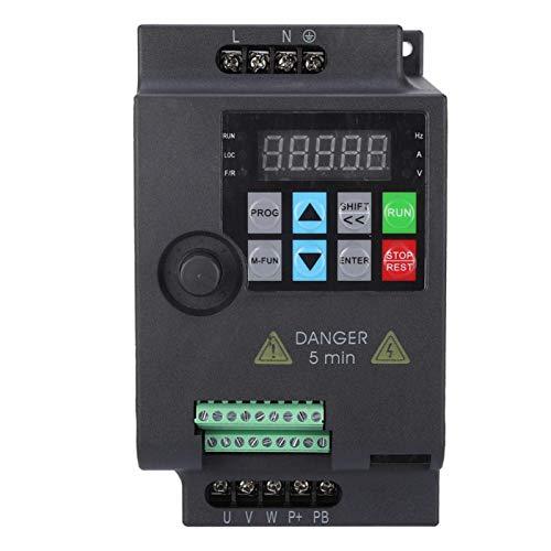 Convertidor de frecuencia, convertidor de frecuencia variable SKI780 Mini VFD para motor 220V/380V 0,75/1,5/2,2KW para equipos textiles(220VAC 1.5KW)