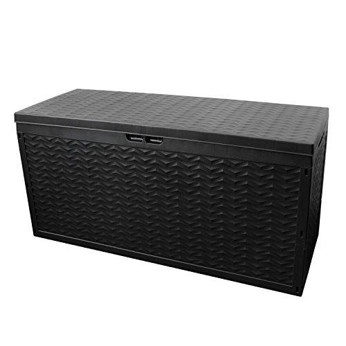 Auflagenbox Cargo, rollbar, Kunststoff, Anthrazit, 320L, 120x45xH60cm