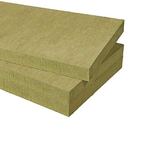FUTURAZeta - Lana de roca grosor 30 mm. Paquete (m2. 11,52) n°16 paneles Acoustic 225 Plus semirrígido