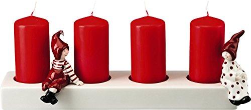 Rosenthal Hutschenreuther Little Christmastown Mit Wichtel Adventskerzenständer [A]