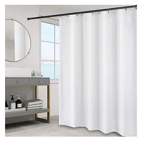 $Badkamer accessoires witte douchegordijnen extra lang en breed badkamer gordijn schimmel proof wasbaar