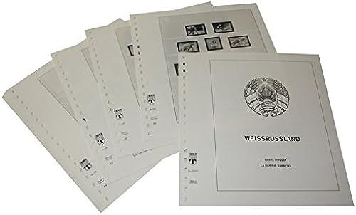 Lindner T Vordruckbl er T242 02 Weißussland - Jahrgang 2002 bis 2010