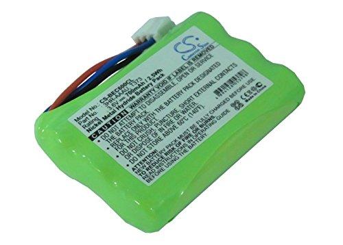 CS-BEC600CL Batteria 700mAh compatibile con [BANG & OLUFSEN] BeoCom 1, BeoCom 6000, BeoCom M6000, BeoCom M6000 MKII sostituisce 3HR-AAAU, per 70AAAH3BMXZ, per T373