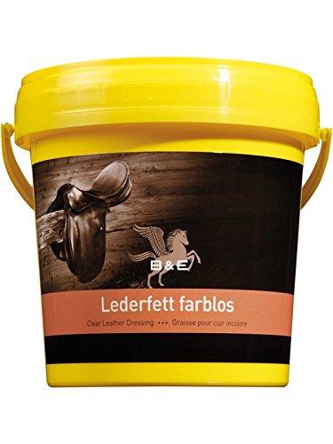 B & E Lederfett farblos, 2,5 Liter