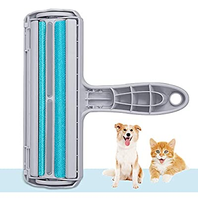 Kinkaivy Pet Hair Remover, Reusable Dog & Cat Hair Remover Lint Roller, Pet Fur Remover from Furniture, Sofa, Bedding, Comforters Couch, and More by kinkaivy