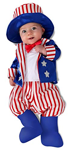 Princess Paradise unisex baby Uncle Sam Infant and Toddler Costumes, As Shown, 12-18 Months US