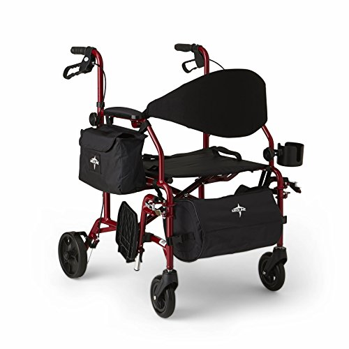 Medline Translator Combination Rollator and Transport Chair,