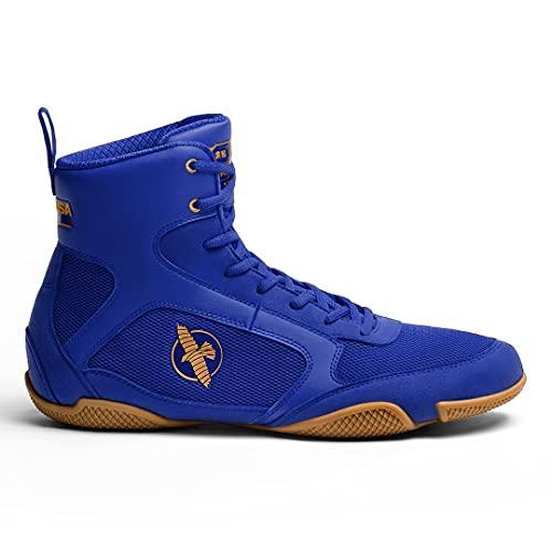 Hayabusa Pro Boxing Shoe for Men & Women - Blue, 10 M - 11.5 W