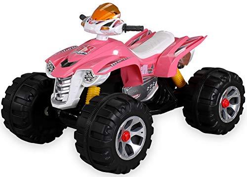 Actionbikes Motors Kinder Elektro Quad Burst 2 x 35 Watt Motor Original Kinder Elektro Auto Kinderauto Kinderfahrzeug (pink)