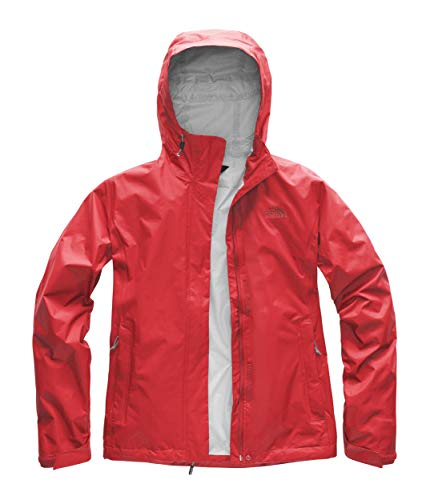 Womens Venture 2 Waterproof Hooded Juicy Red Rain Jacket