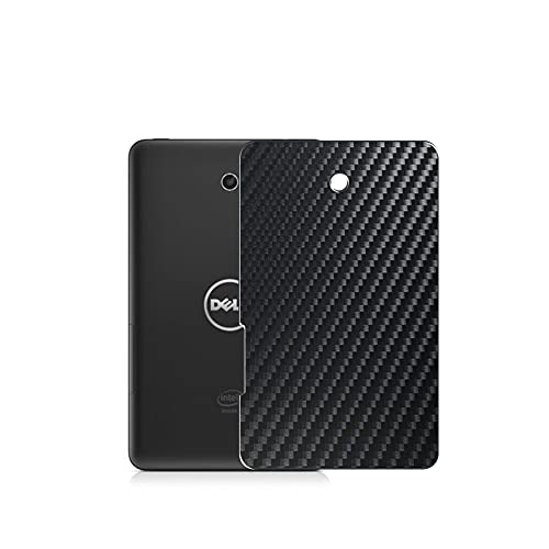 """Vaxson 2 Unidades Protector de pantalla Posterior, compatible con Dell Venue 7 3000 (3730) 7"""", Película Protectora Skin Piel Negro [No Carcasa Case ]"""