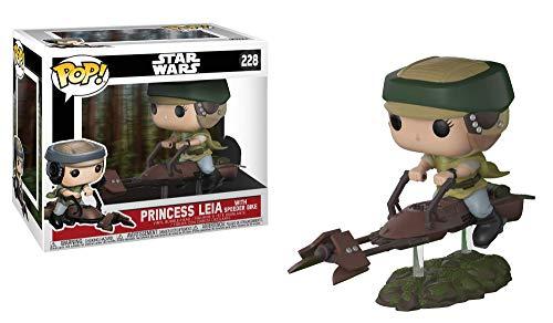 Funko Figura de vinilo coleccionable, multicolor, Los estilos pueden variar - Princess Leia/Luke Skywalker (228 or 229) , color/modelo surtido