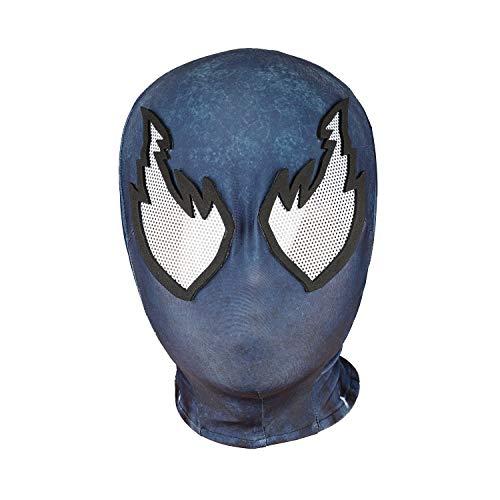 Halloween Mask Superhero Masks Cosplay Costumes Mask Spandex Fabric Material (Adult mask, BBB)