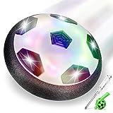lenbest Hover Ball Calcio, Pallone da Calcio da Interno Fluttuante con Luci a LED, Hover C...
