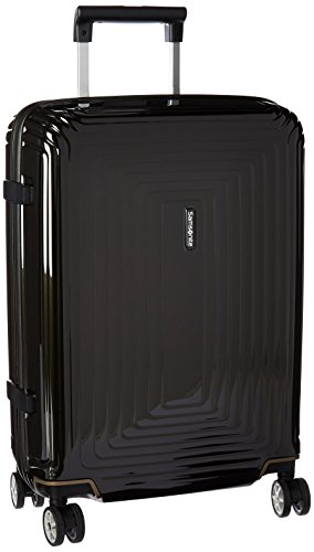 Samsonite Neopulse Hardside Luggage with Spinner Wheels, Metallic Black, Carry-On 20-Inch