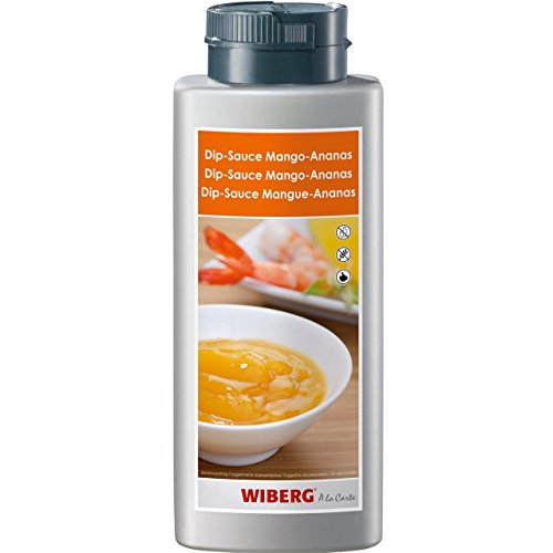 WIBERG Dip-Sauce Mango Ananas, mit Curry und Ingwer, 800g