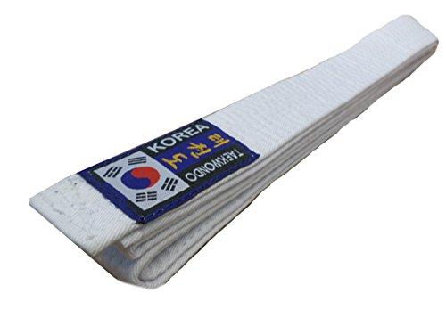 Budodrake Korea Taekwondo Gürtel weiß (200)